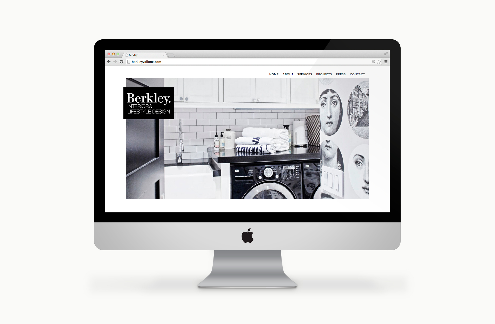 Berkley Vallone Website Design